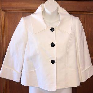 Tahari short  bed jacket.  Size 4p.  NWOT